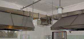 Vzduchotechnika a digestory v kuchyni